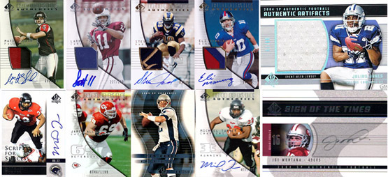 1997-2010: The Evolution of SP Authentic Football Card Design 8