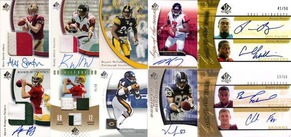 1997-2010: The Evolution of SP Authentic Football Card Design 9
