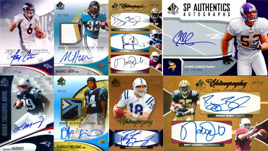 1997-2010: The Evolution of SP Authentic Football Card Design 10