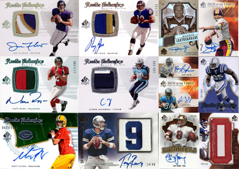 1997-2010: The Evolution of SP Authentic Football Card Design 12