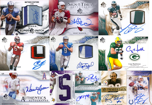 1997-2010: The Evolution of SP Authentic Football Card Design 13