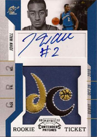 Top 50 First Week Sales: 2010-11 Playoff Contenders Patches Basketball 3