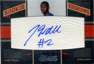 John Wall Cards, Rookie Cards and Autographed Memorabilia Guide 3