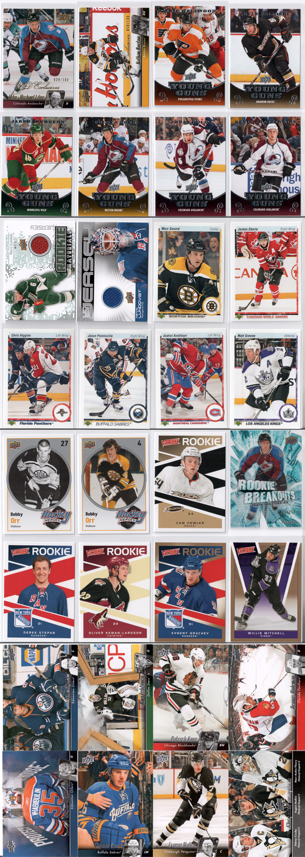2010-11 Upper Deck Series 2 Hockey Product Review 10