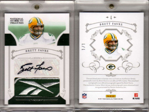 Big Time Hits: 2010 National Treasures Football  4