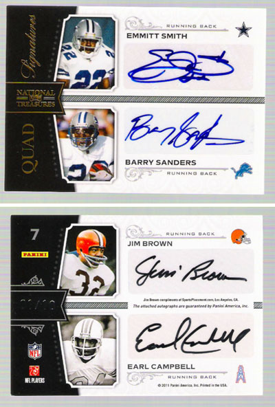 Big Time Hits: 2010 National Treasures Football  53