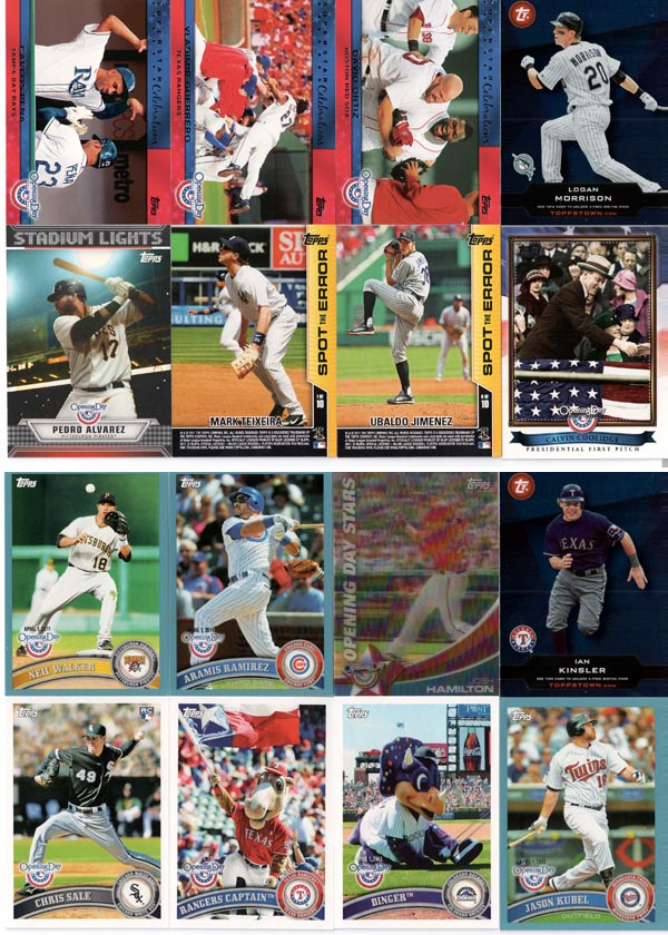 2011 Topps Opening Day Baseball Review 10