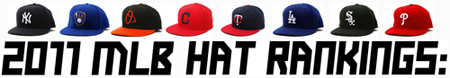 2011 MLB Baseball Hat Rankings 1