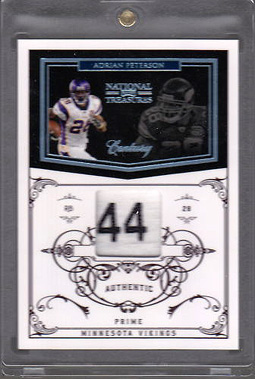Big Time Hits: 2010 National Treasures Football  36