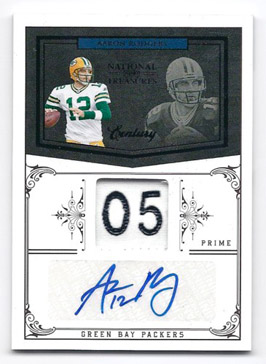 Big Time Hits: 2010 National Treasures Football  33