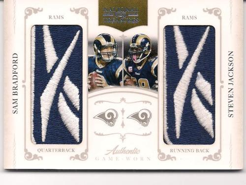 Big Time Hits: 2010 National Treasures Football  67