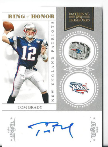 Big Time Hits: 2010 National Treasures Football  61