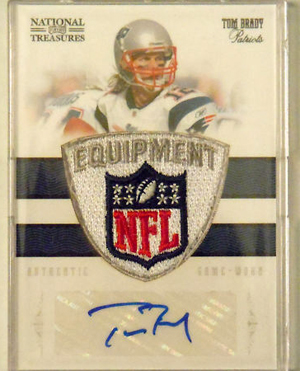 Big Time Hits: 2010 National Treasures Football  46