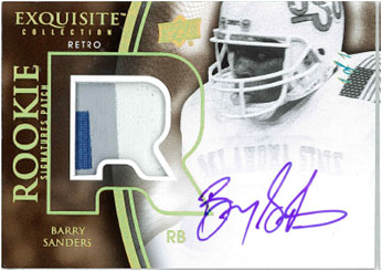 2010 Exquisite Collection Football 12