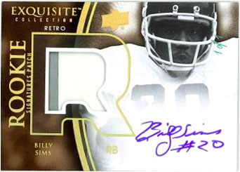 2010 Exquisite Collection Football 13