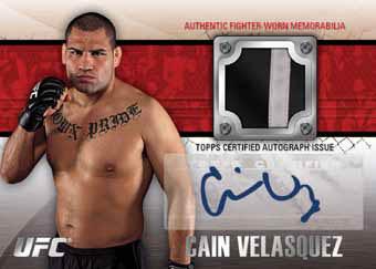 2011 Topps UFC Title Shot 55