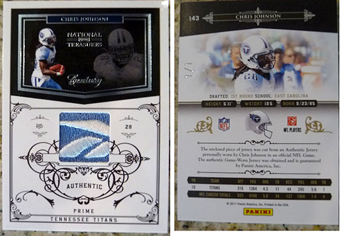 Big Time Hits: 2010 National Treasures Football  40