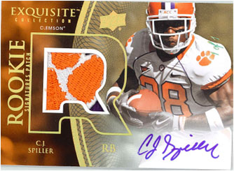 2010 Exquisite Collection Football 8