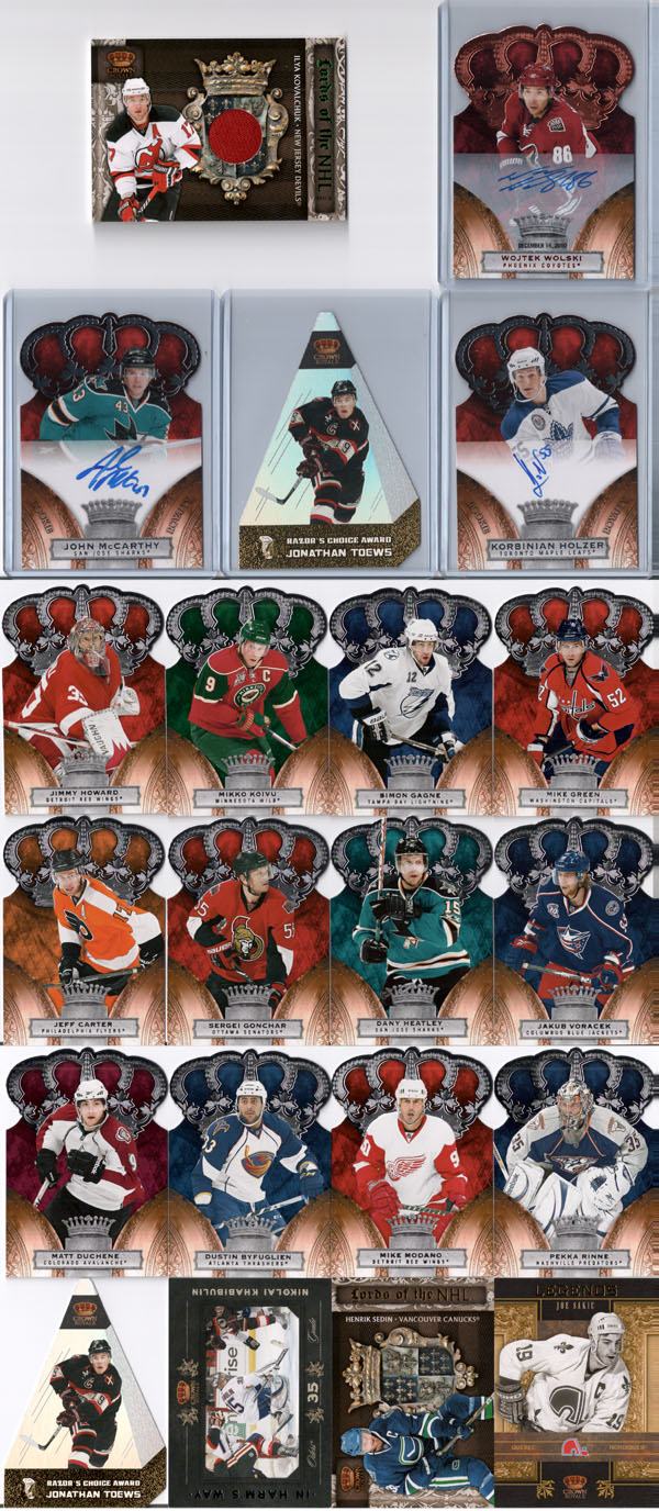 2010-11 Crown Royale Hockey Review 11