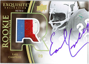 2010 Exquisite Collection Football 10