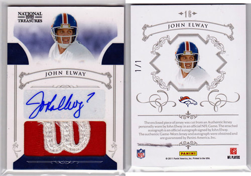 Big Time Hits: 2010 National Treasures Football  44