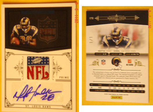 Big Time Hits: 2010 National Treasures Football  18