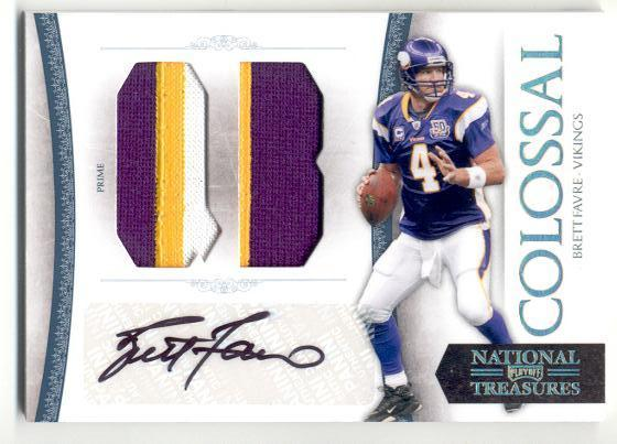 Big Time Hits: 2010 National Treasures Football  63
