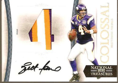 Big Time Hits: 2010 National Treasures Football  48
