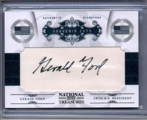 Big Time Hits: 2010 National Treasures Football  43