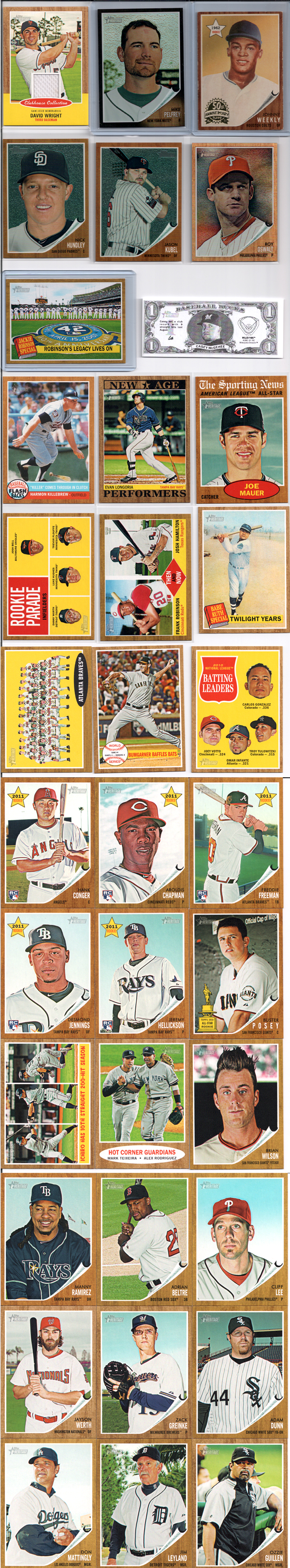 2011 Topps Heritage Review 11