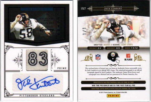 Big Time Hits: 2010 National Treasures Football  41