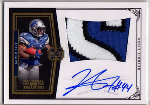 Big Time Hits: 2010 National Treasures Football  28
