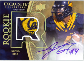 2010 Exquisite Collection Football 9