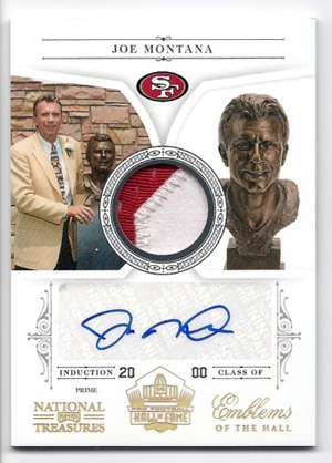 Big Time Hits: 2010 National Treasures Football  15