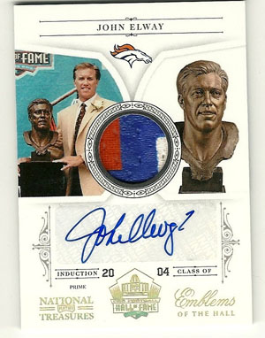Big Time Hits: 2010 National Treasures Football  38