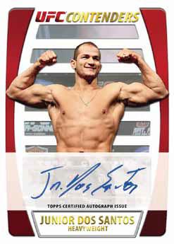 2011 Topps UFC Title Shot 52