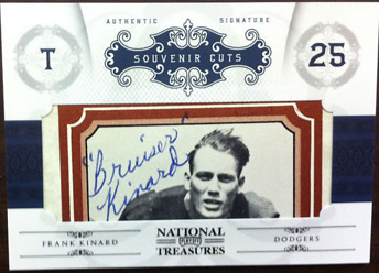 Big Time Hits: 2010 National Treasures Football  8