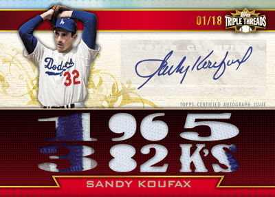 2011 Topps Triple Threads Baseball  4