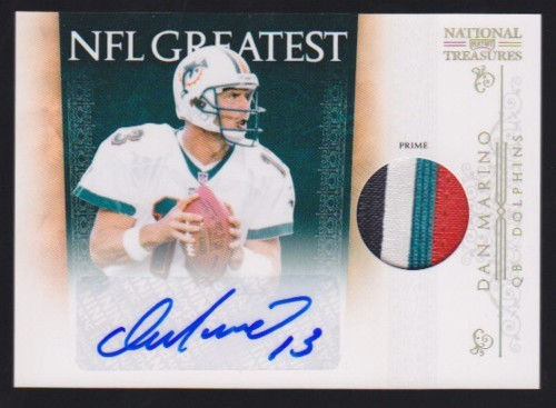Big Time Hits: 2010 National Treasures Football  66