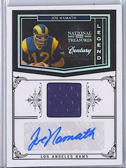 Big Time Hits: 2010 National Treasures Football  35