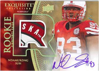 2010 Exquisite Collection Football 7
