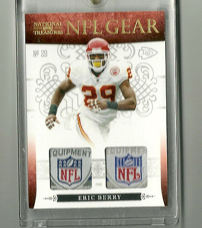 Big Time Hits: 2010 National Treasures Football  22