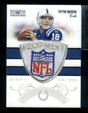 Big Time Hits: 2010 National Treasures Football  2