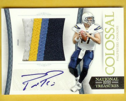 Big Time Hits: 2010 National Treasures Football  9