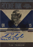 Panini Confirms 2010 Playoff Contenders Tim Tebow Inscription Variations 3