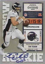 Panini Confirms 2010 Playoff Contenders Tim Tebow Inscription Variations 2