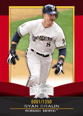 2011 Topps Triple Threads Baseball  6