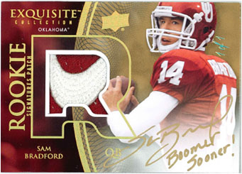 2010 Exquisite Collection Football 6