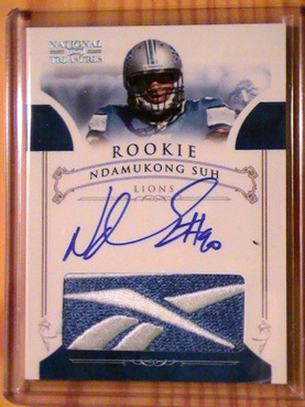 Big Time Hits: 2010 National Treasures Football  10