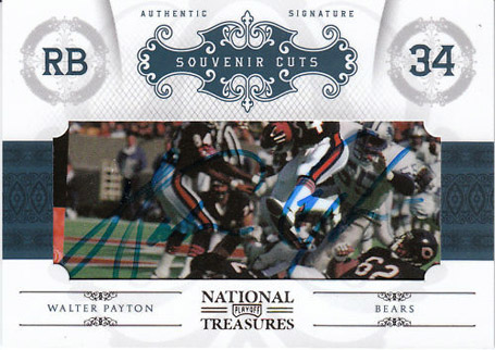 Big Time Hits: 2010 National Treasures Football  16